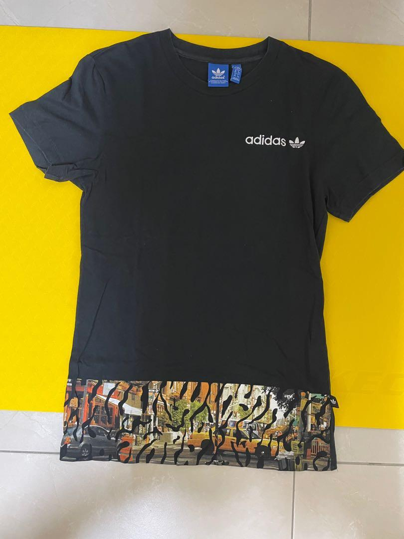 Adidas短T