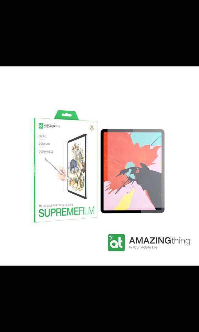 """AMAZINGthing  Apple iPad Pro 2018/19/20 (11"""") 專用繪圖保護膜"""