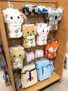 Baby hooded blankets
