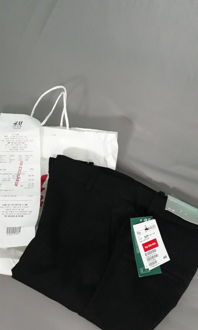 Black Trousers by H&M