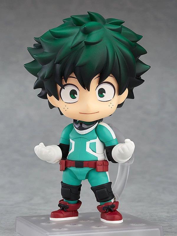Authentic My Hero Academia BNHA Nendoroid (Izuku Midoriya, Shoto Todoroki, Bakugou Katsuki)