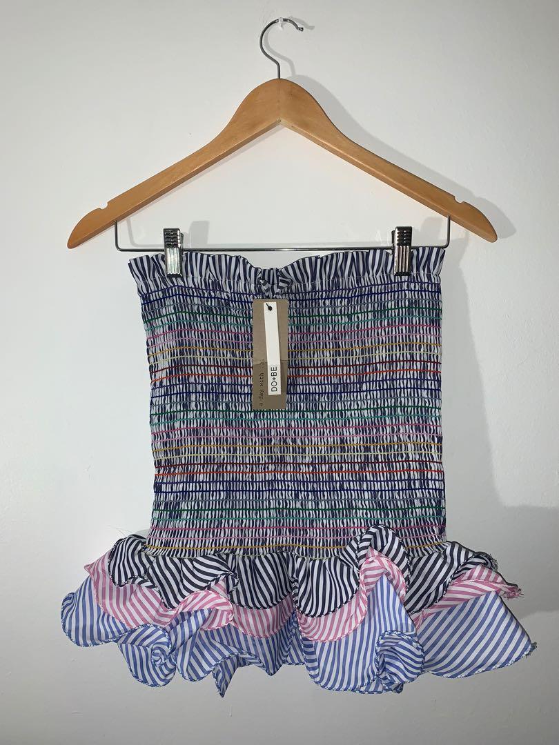BNWT FashionNova Ruched Skirt