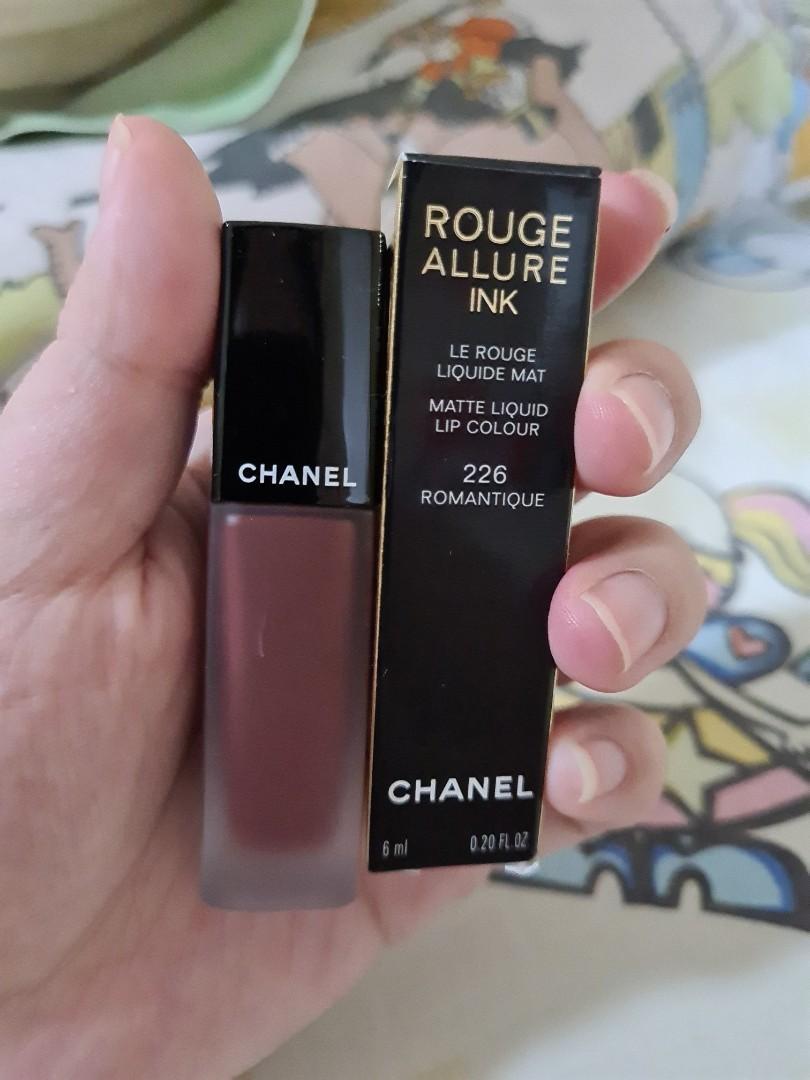 Chanel Rouge Allure Ink Shade 226 Romantique Matte Liquid Color