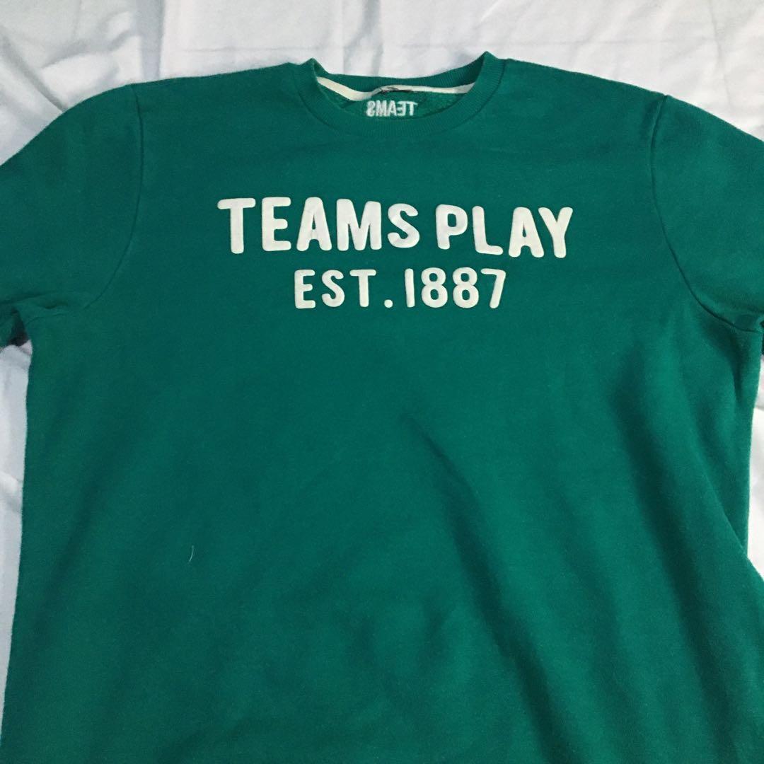 Crewneck teams lucu Thriftshop