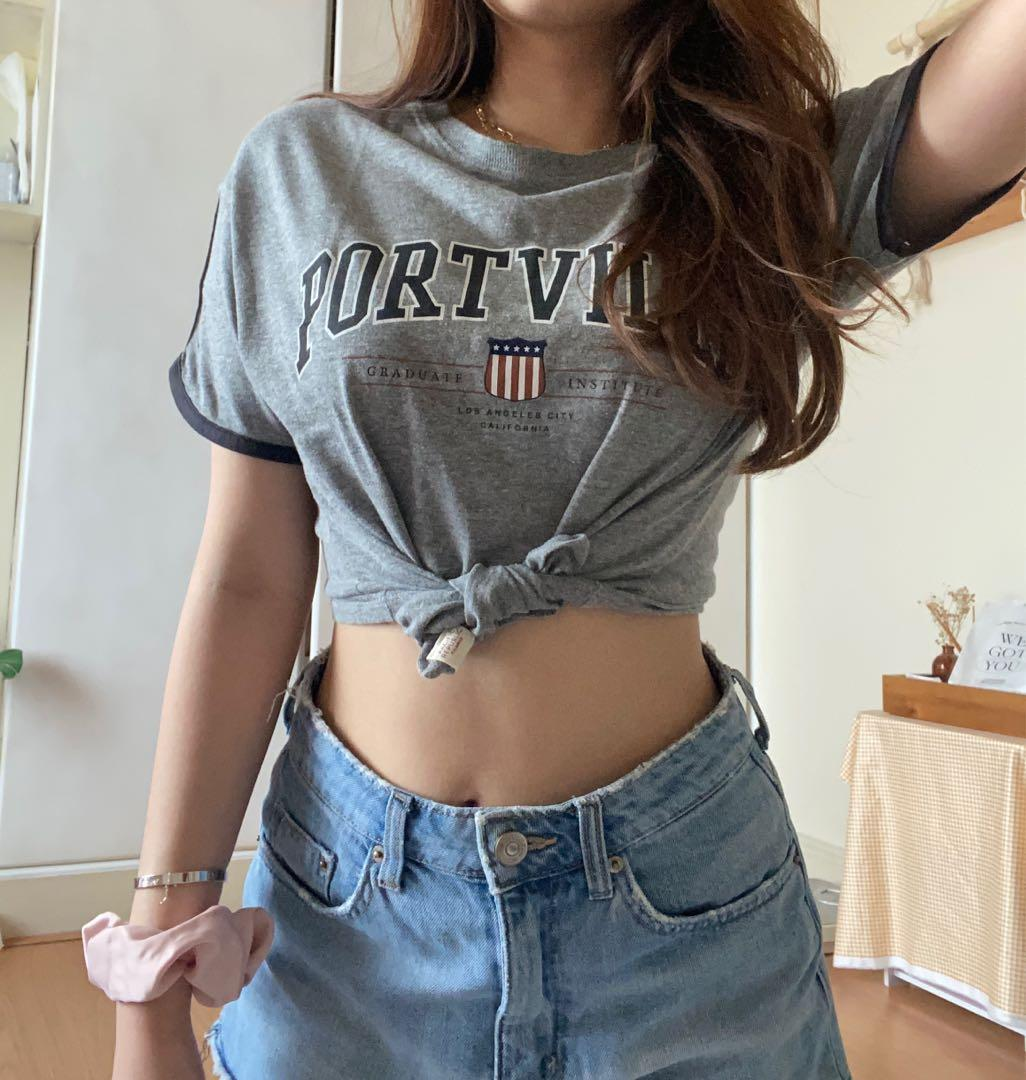crop top tumblr pull and bear
