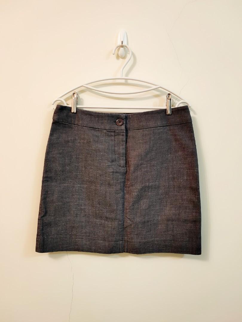 澳州品牌Dangerfield,灰色時尚短裙!XL 號!#歡慶2021