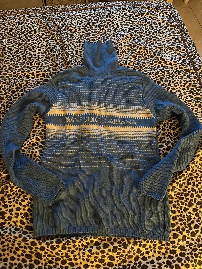 D&G高領針織毛衣