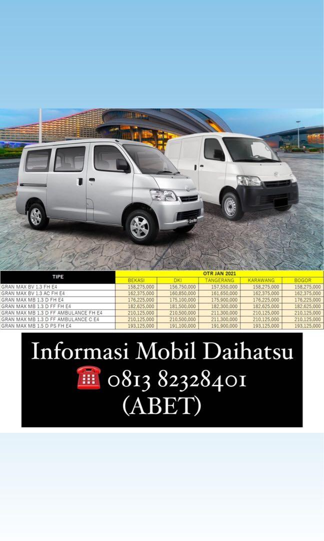 DP RINGAN Daihatsu Granmax Minibus mulai 18 jutaan. Daihatsu Fatmawati