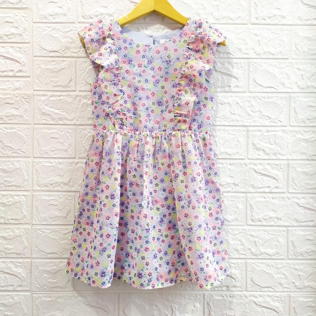 Dress Anak Perempuan HM Usia 3-4 tahun
