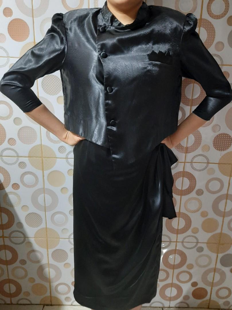 Dress black / dress hitam