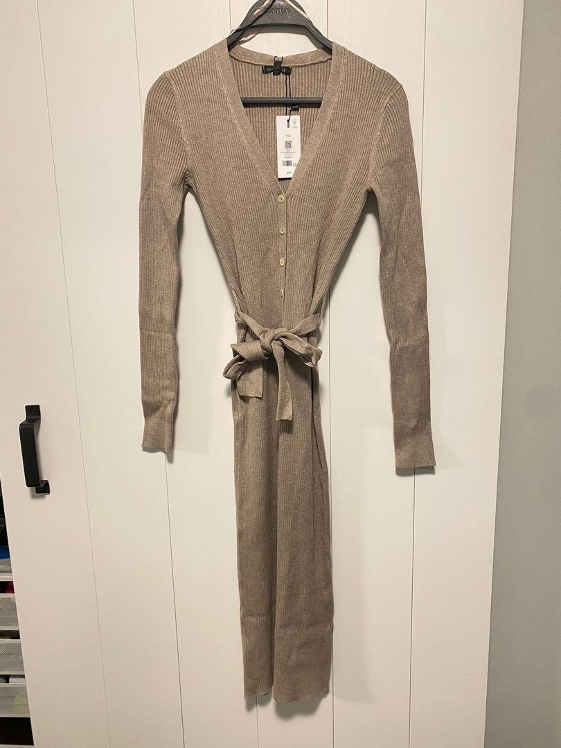 DYNAMITE Button Down Henley dress