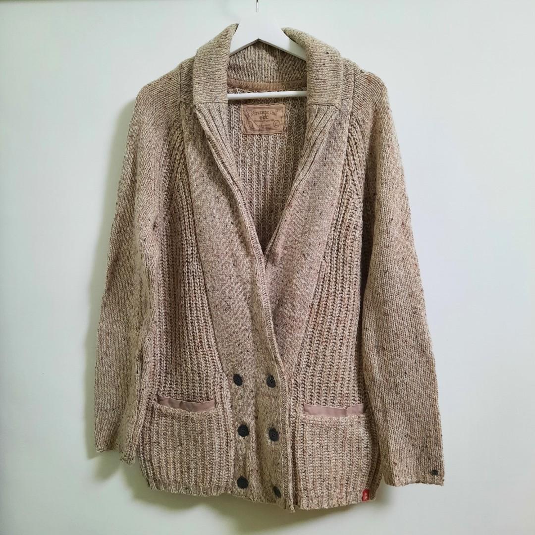ESPRIT-edc 針織毛衣外套(不議價)