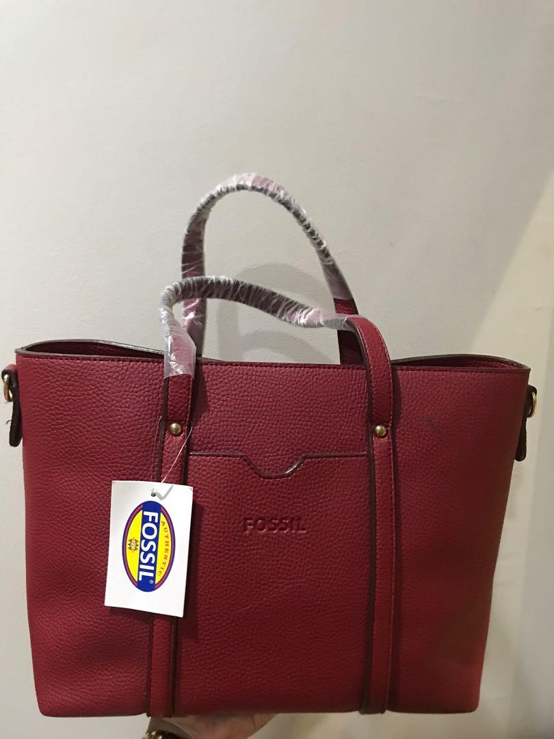 NEW Fossil Tote Bag High Quality