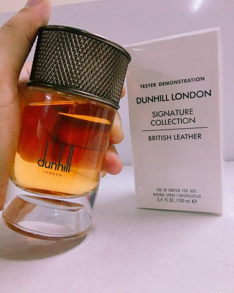 Free Shipping Perfume Tester Dunhill London Signature Collection British Leather Perfume Tester Quality For Sale Health Beauty Perfumes Nail Care Others On Carousell