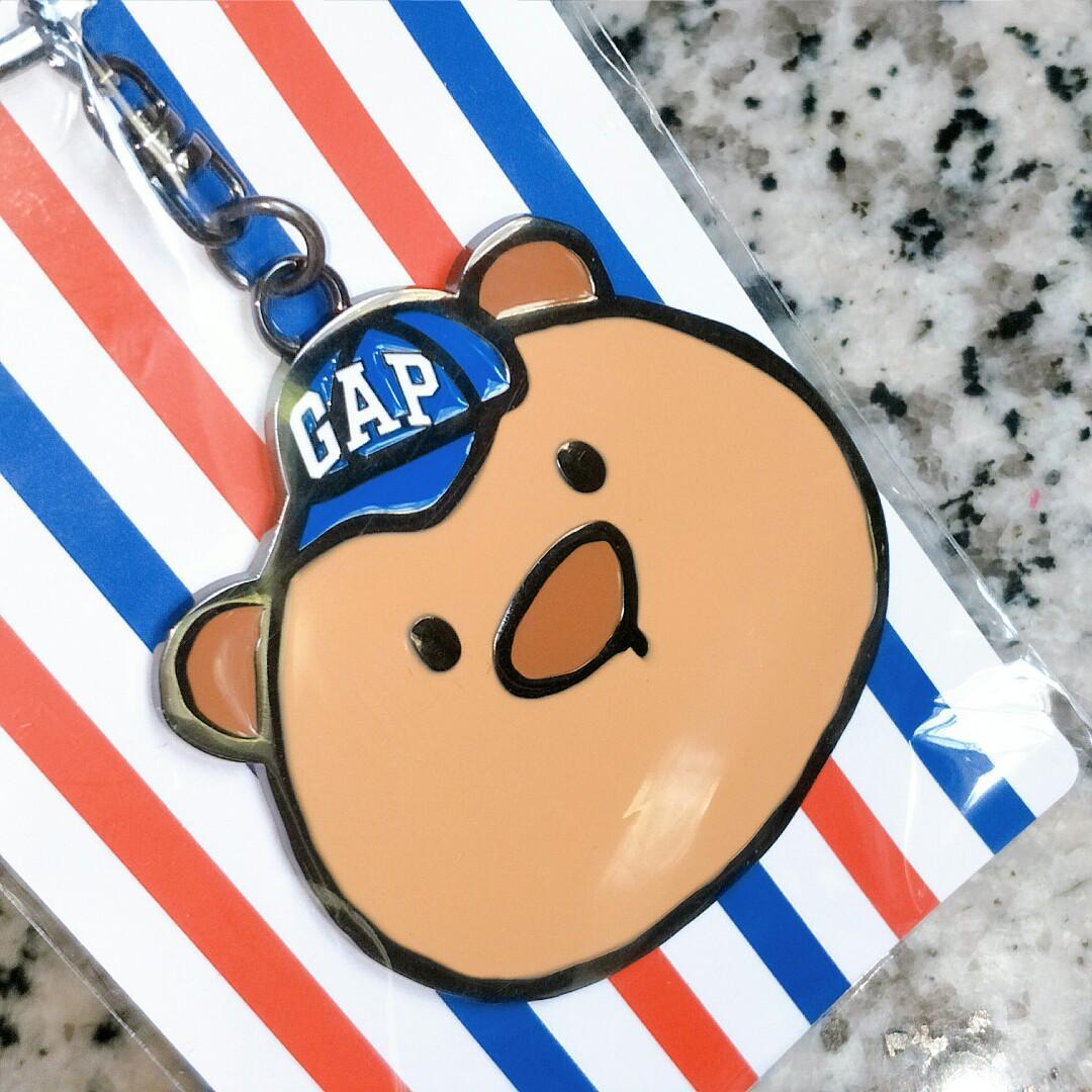 gap 限量 布萊納小熊 鑰匙圈 鑰匙釦 美好生活的儀式感 可愛熊熊 幼兒童安撫玩具 收藏 動物吊飾