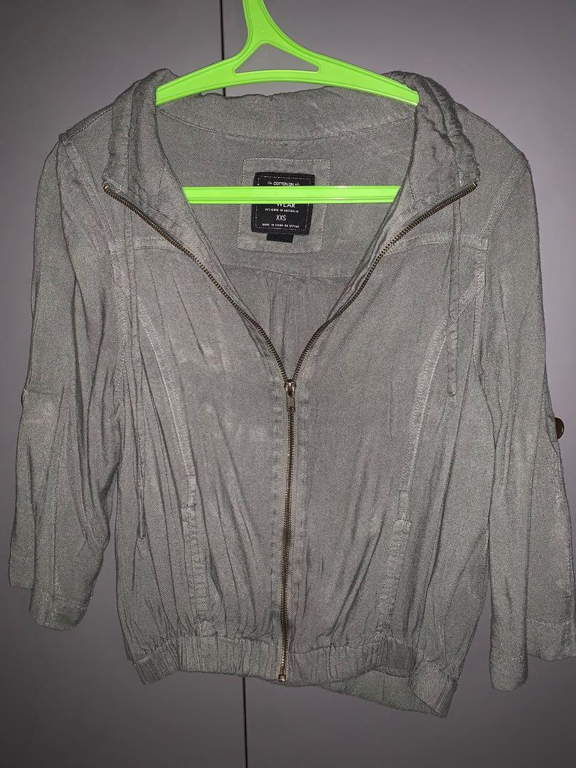 Green Cardigan / Jacket