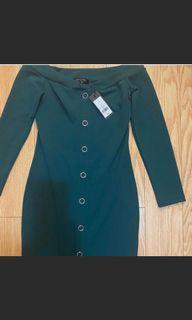 Green dress size small