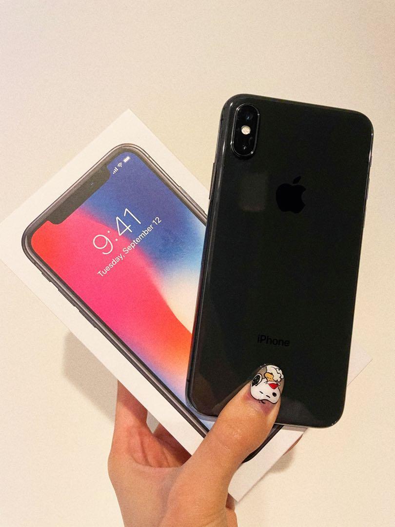 誠者可議「二手」I Phone X 太空黑 256G、5.8寸全螢幕