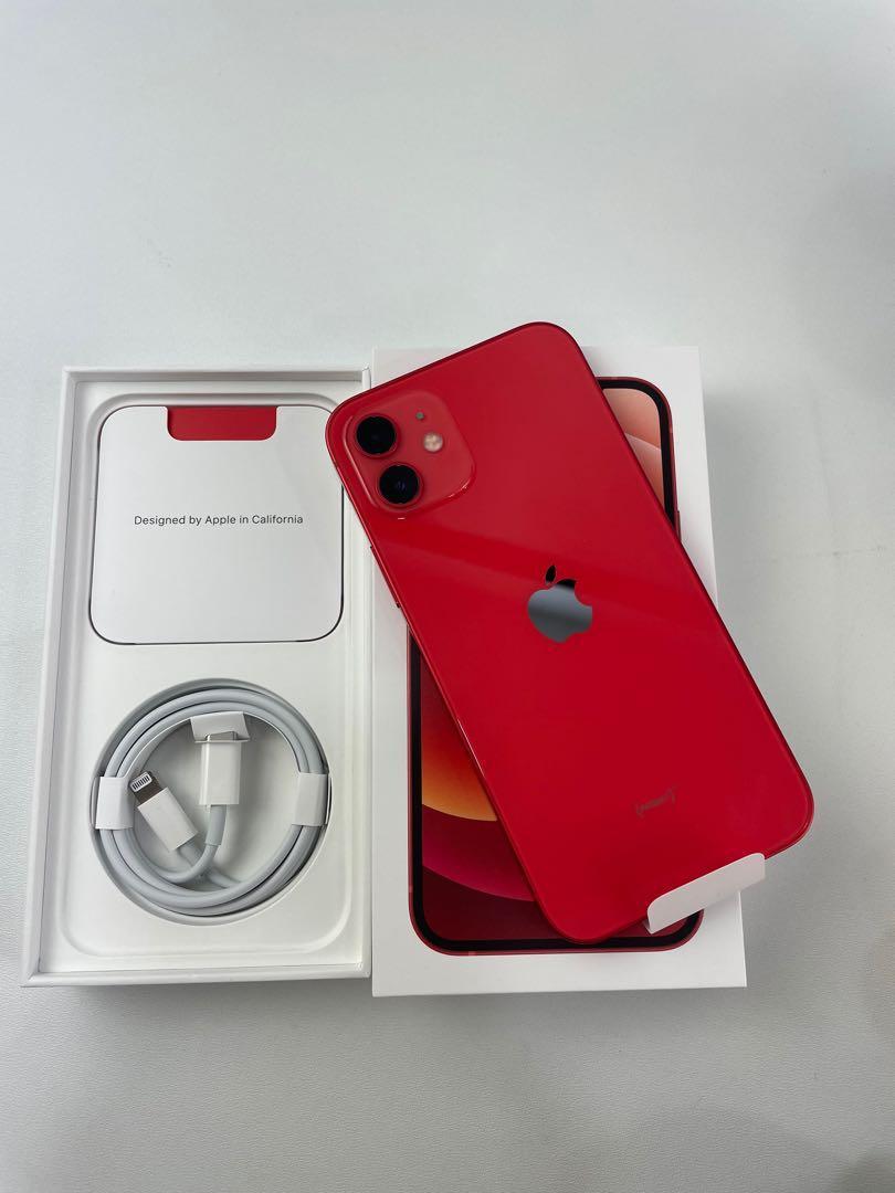 iPhone 12 128 紅 無傷