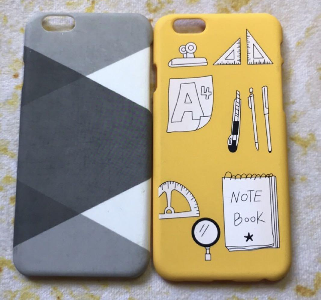 iPhone 7手機殼 i7手機殼 (黃 、灰格子)
