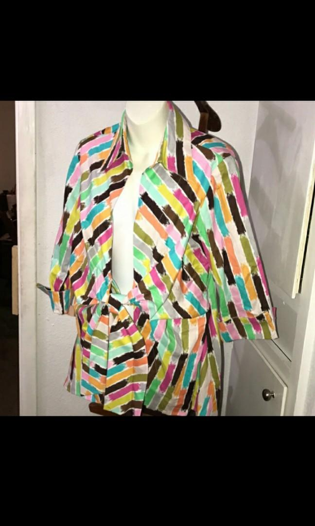 Isabel multicolored blazer