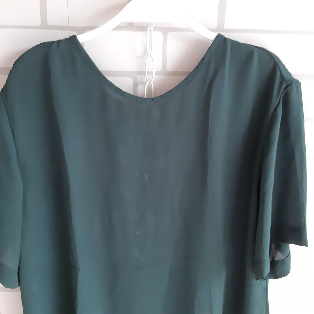Jade green top