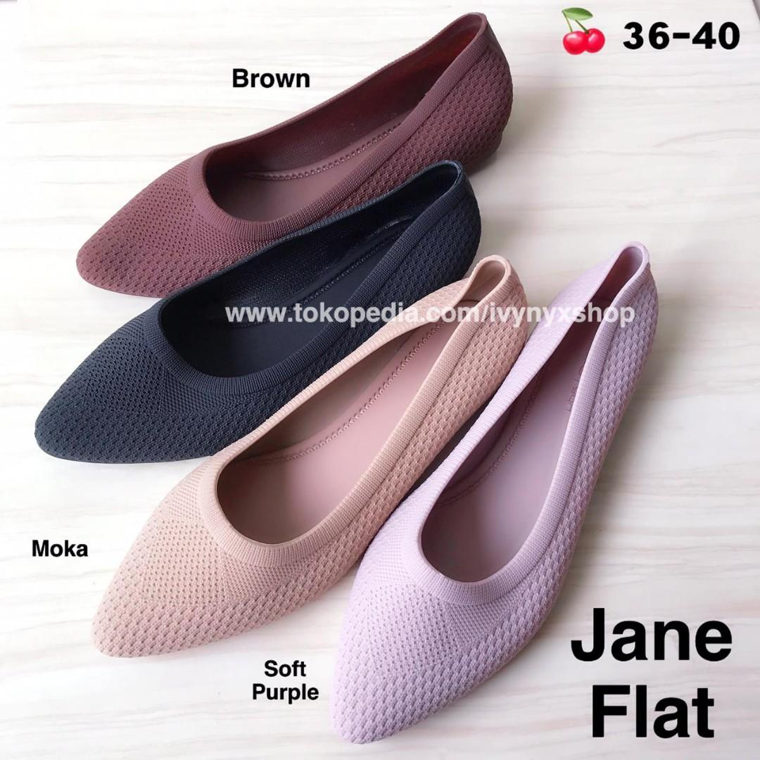 Jane Flat Jelly Shoes