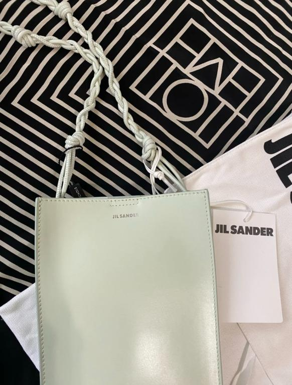 Jil Sander Small tangle 包 薄荷綠 奶油綠