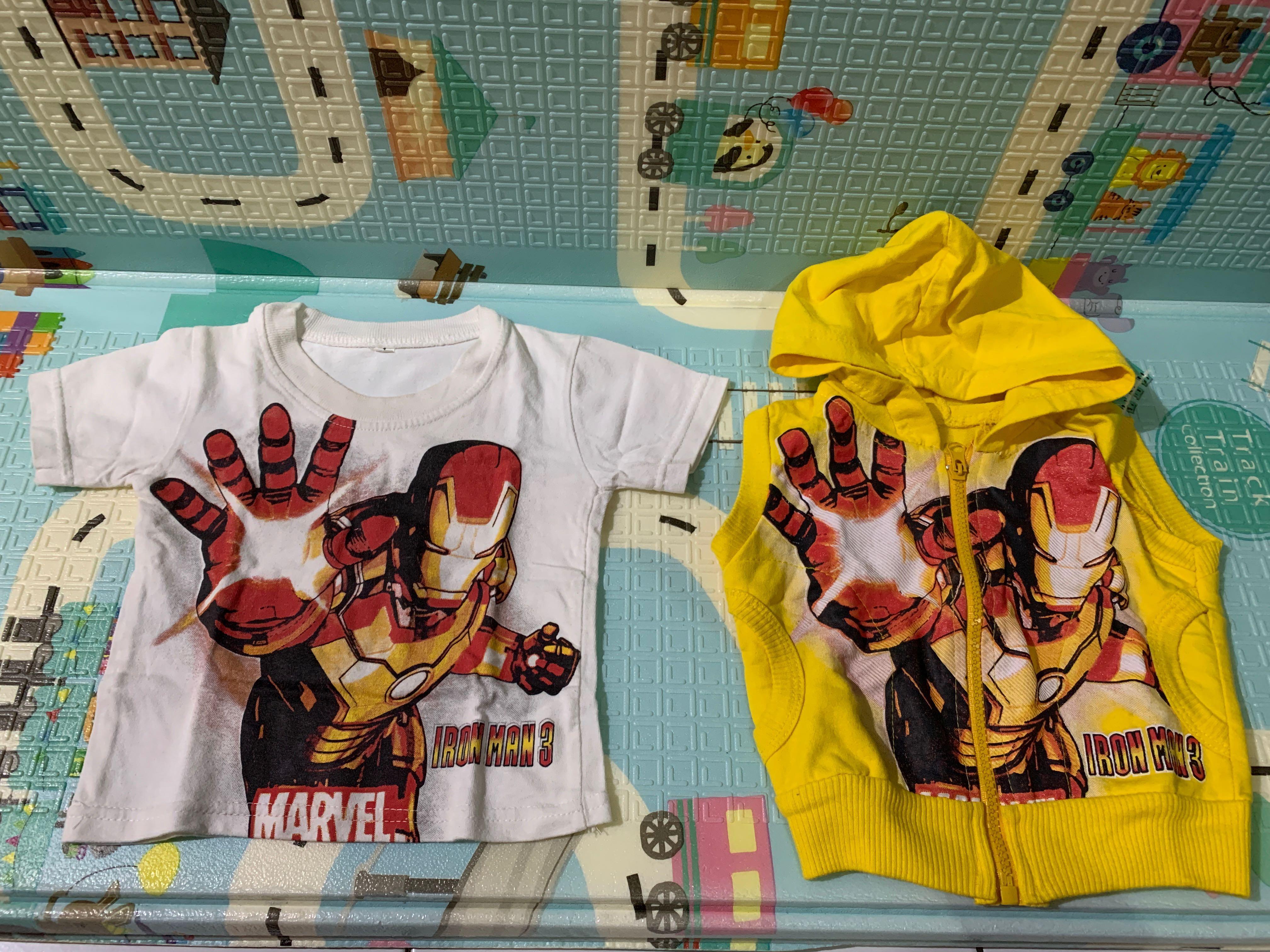 Kaos Set Rompi Ironman