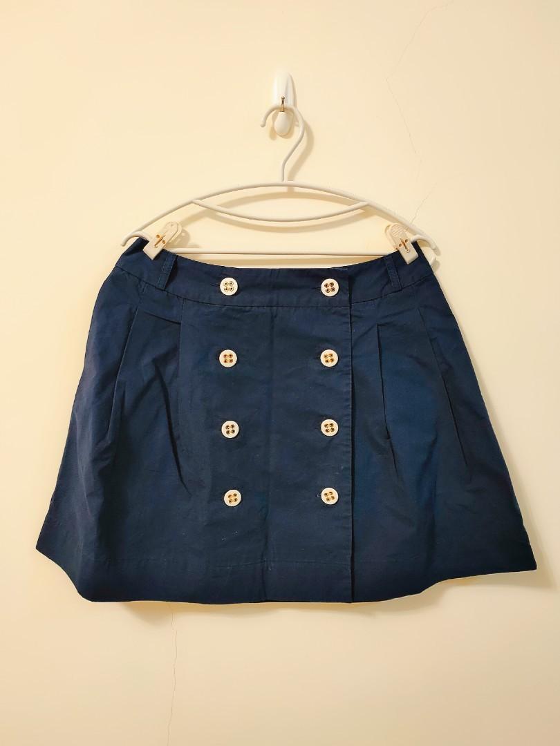 L 號!英國品牌Ben Sherman,藏藍裙子!#歡慶2021