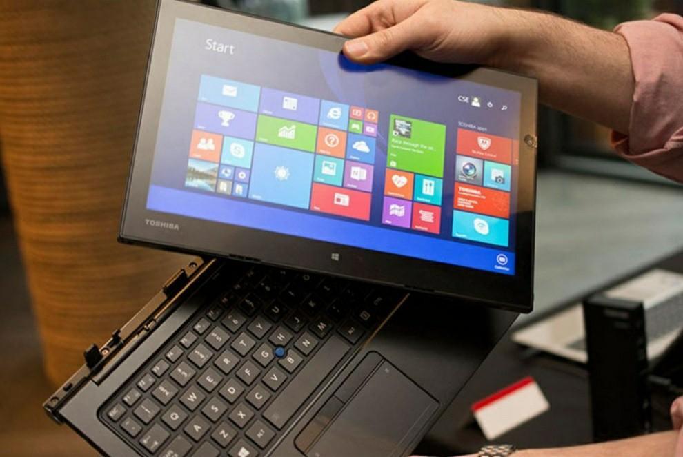 Laptop 2 in 1 Spek Lengkap : Toshiba Z20T Core m7 Touchscreen
