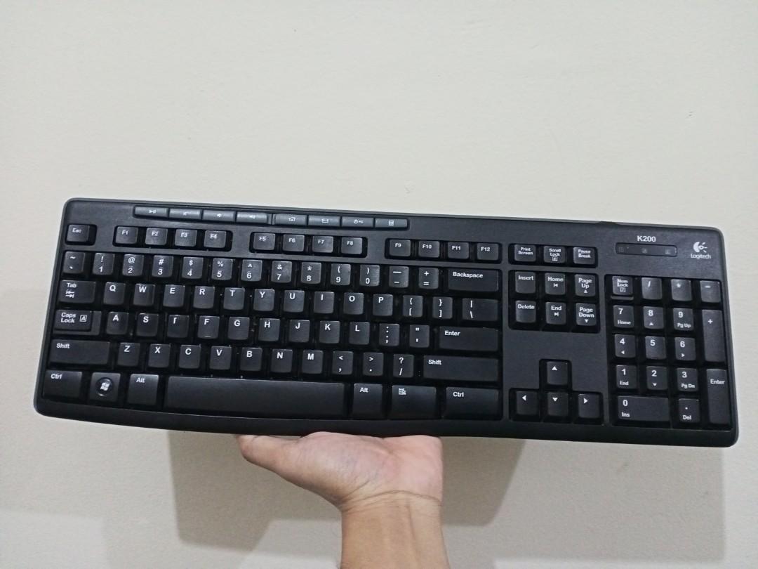 Logitech K200