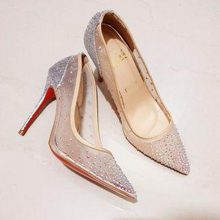 Louboutin heels sz 36