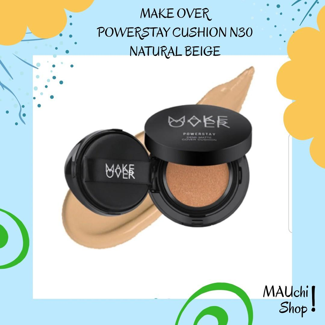 Make over powerstay demi matte cushion N30 with case
