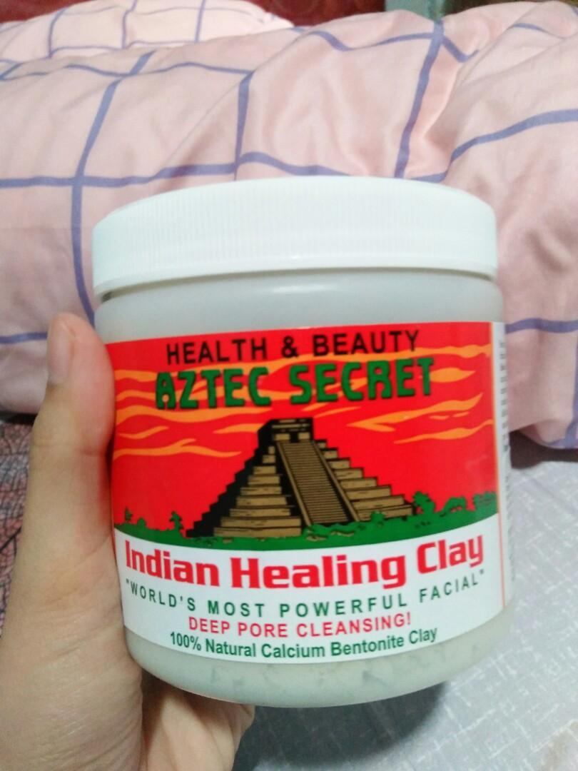 Masker aztec indian healing clay