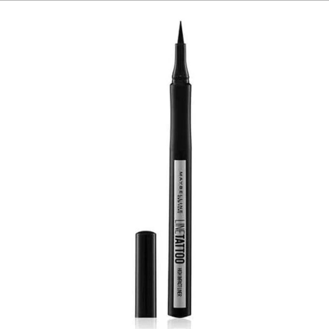 Maybelline eyeliner line tatto