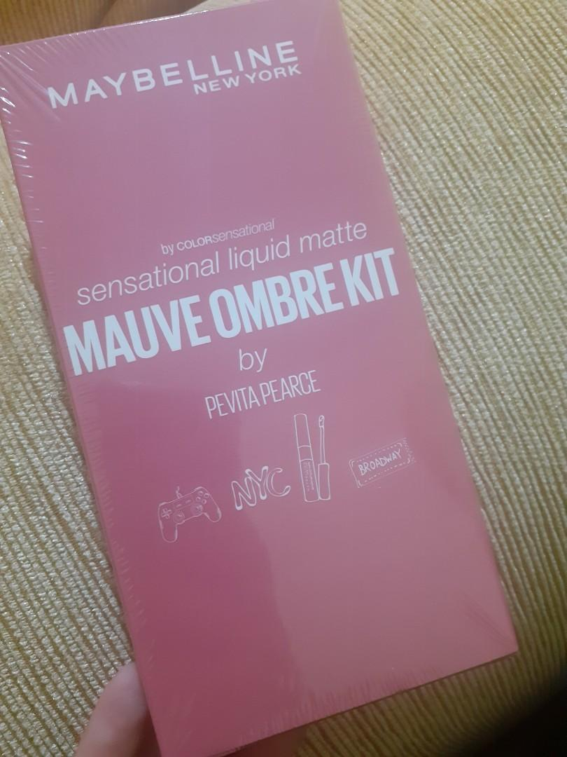 MAYBELLINE MAUVE OMBRE KIT BY PEVITA PEARCE