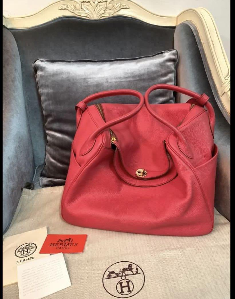 Mirror VViP Hermes Lindy Coral red Like new
