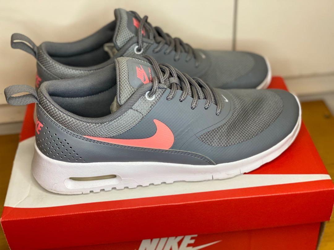 Nike Air Max Thea - Grey/Pink