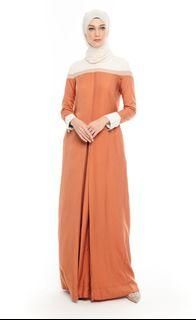 Olloum Queen Saba' Copper Dress + Free dry-cleaning bag