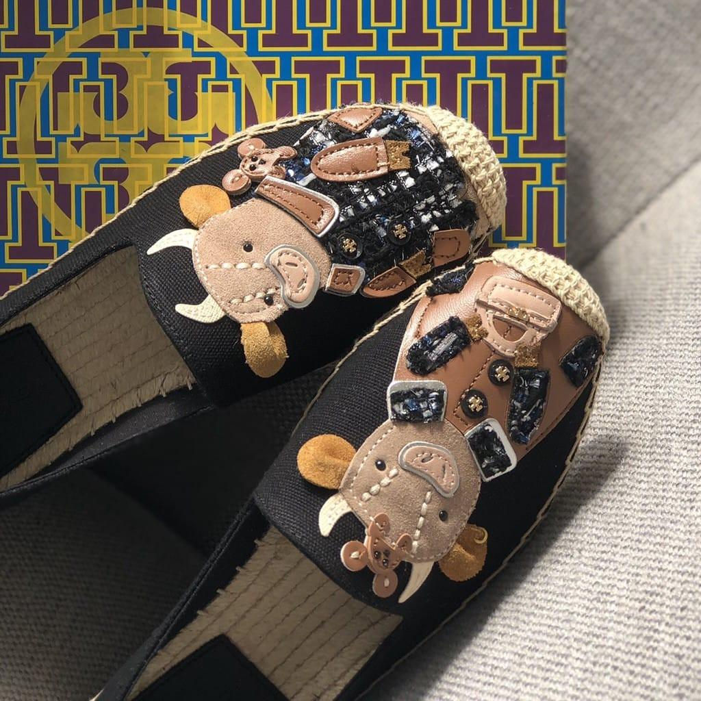 🔥Open PO🔥Tory Burch Flat Shoes Edisi Imlek