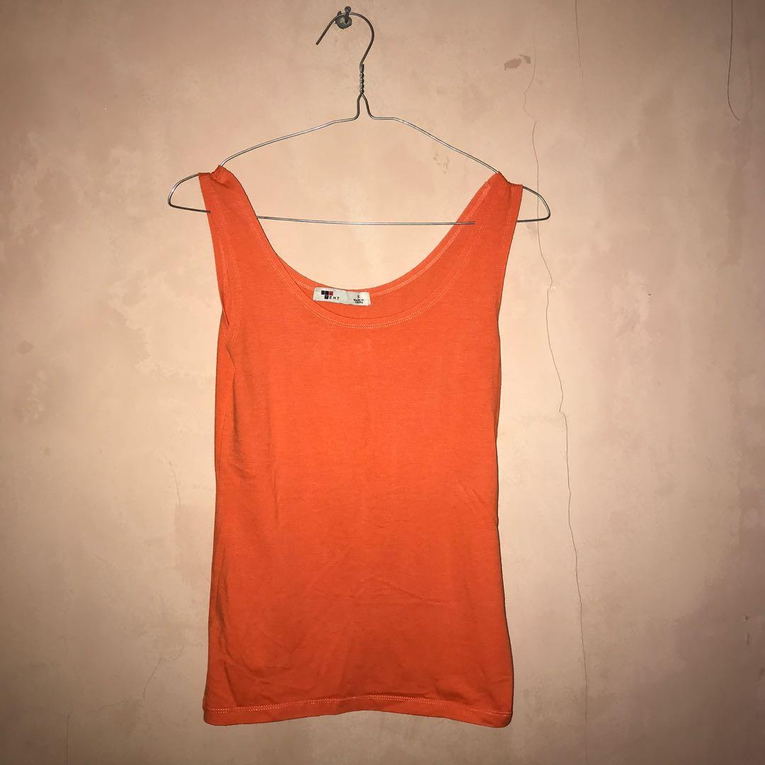 Orange tanktop