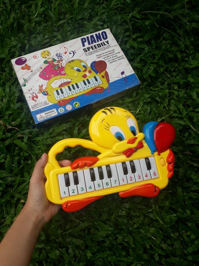 Piano anak tweety
