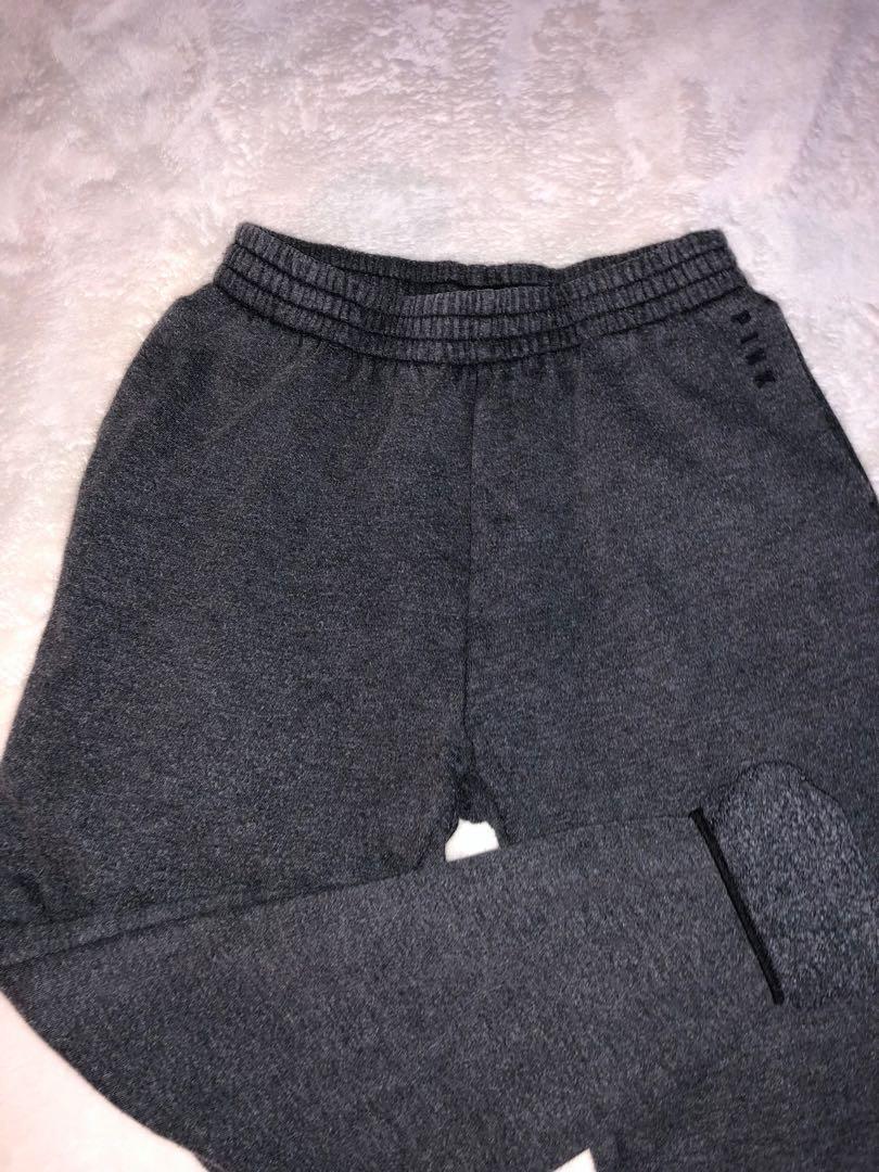PINK Dark Grey Sweats