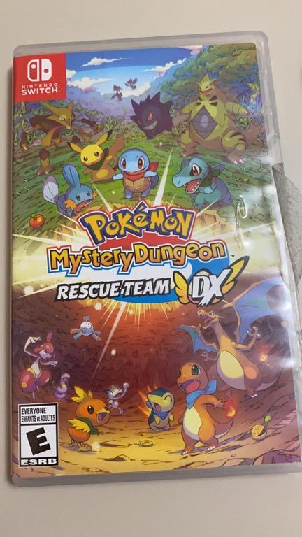 Pokémon Mystery Dungeon Rescue Team DX for Nintendo Switch