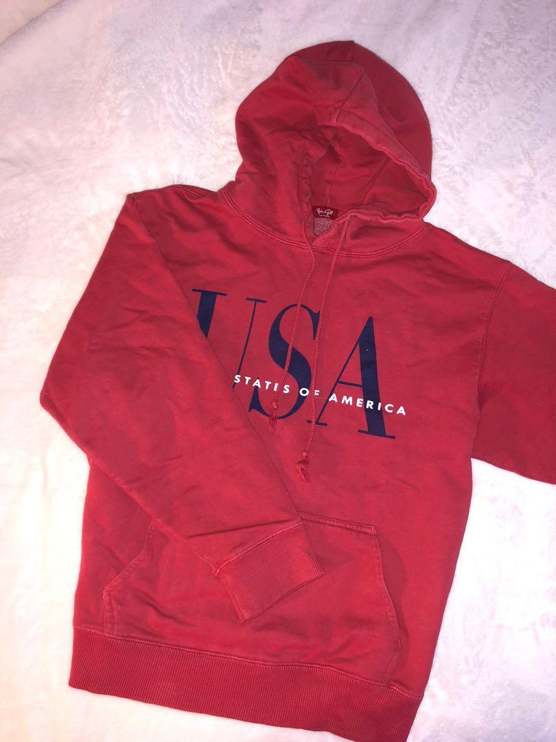 Red Brandy USA Hoodie