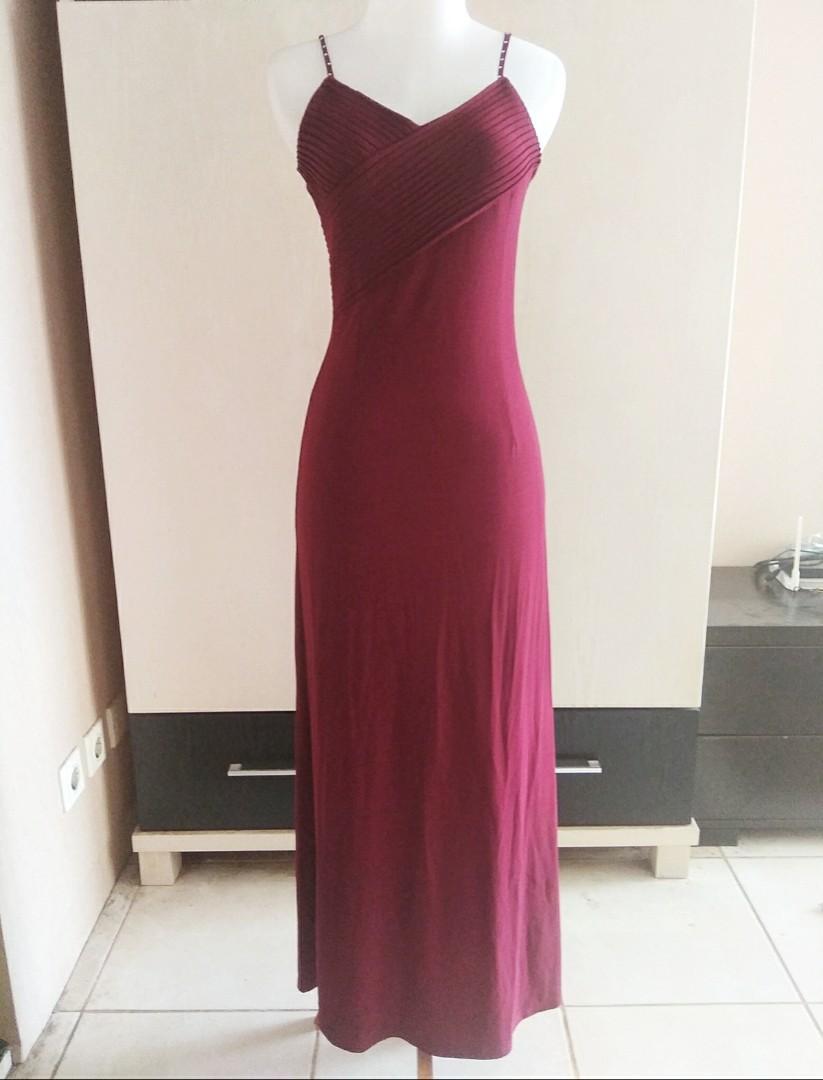 'Red Evening Gown' - Baju Pesta