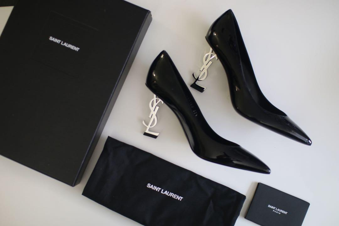 Saint Laurent YSL Opyum Pump in Patent Leather