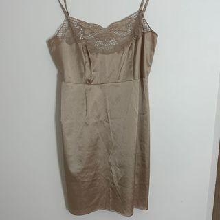 Satin/Silk Dress