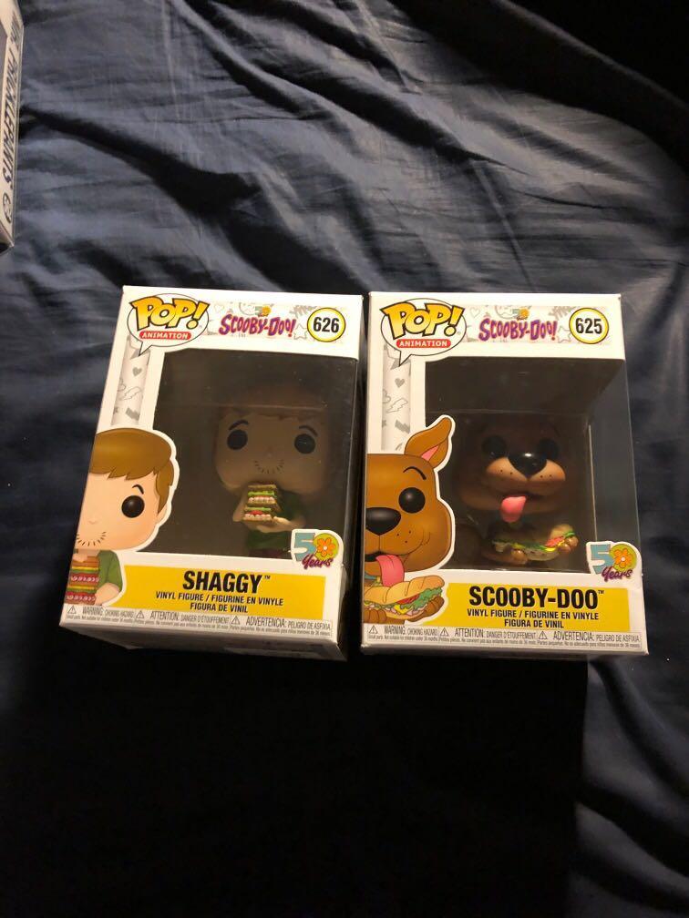 Scooby a shaggy pop